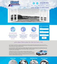 HVAC website - Patco A/C Service, Inc in Lawrence, KS - (785) 842-2258 - is an example of a PagePilot HVAC website design
