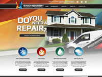 Get a branded website design from Online-Access for your HVAC company.