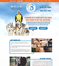 HVAC website - ThermalPros Heating & Cooling in Sterling Heights, MI - (248) 212-0209 - is an example of a PagePilot HVAC website design
